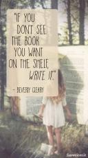 """""""Se non vedi il libro che vuoi sullo scaffale, scrivilo"""" (Beverly Cleary)"""
